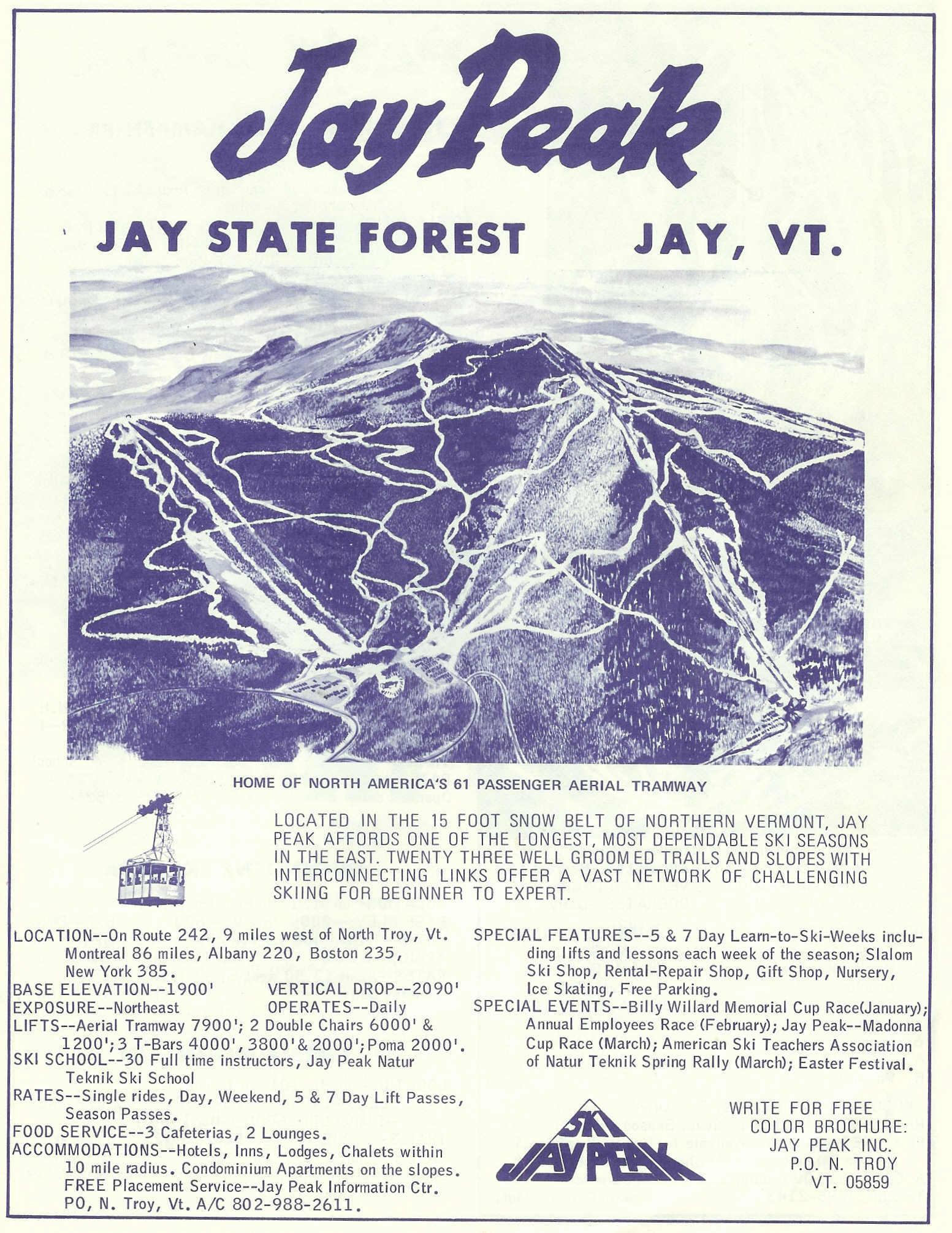 Jay Peak  GEOSAP